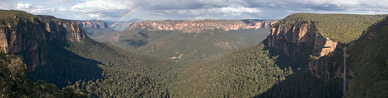 Grose Valley near Blackheath in the Blue Mountains, Australia